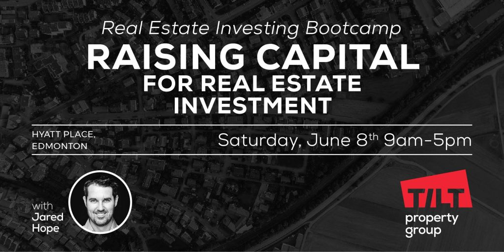 Image promoting Raising Capital event.