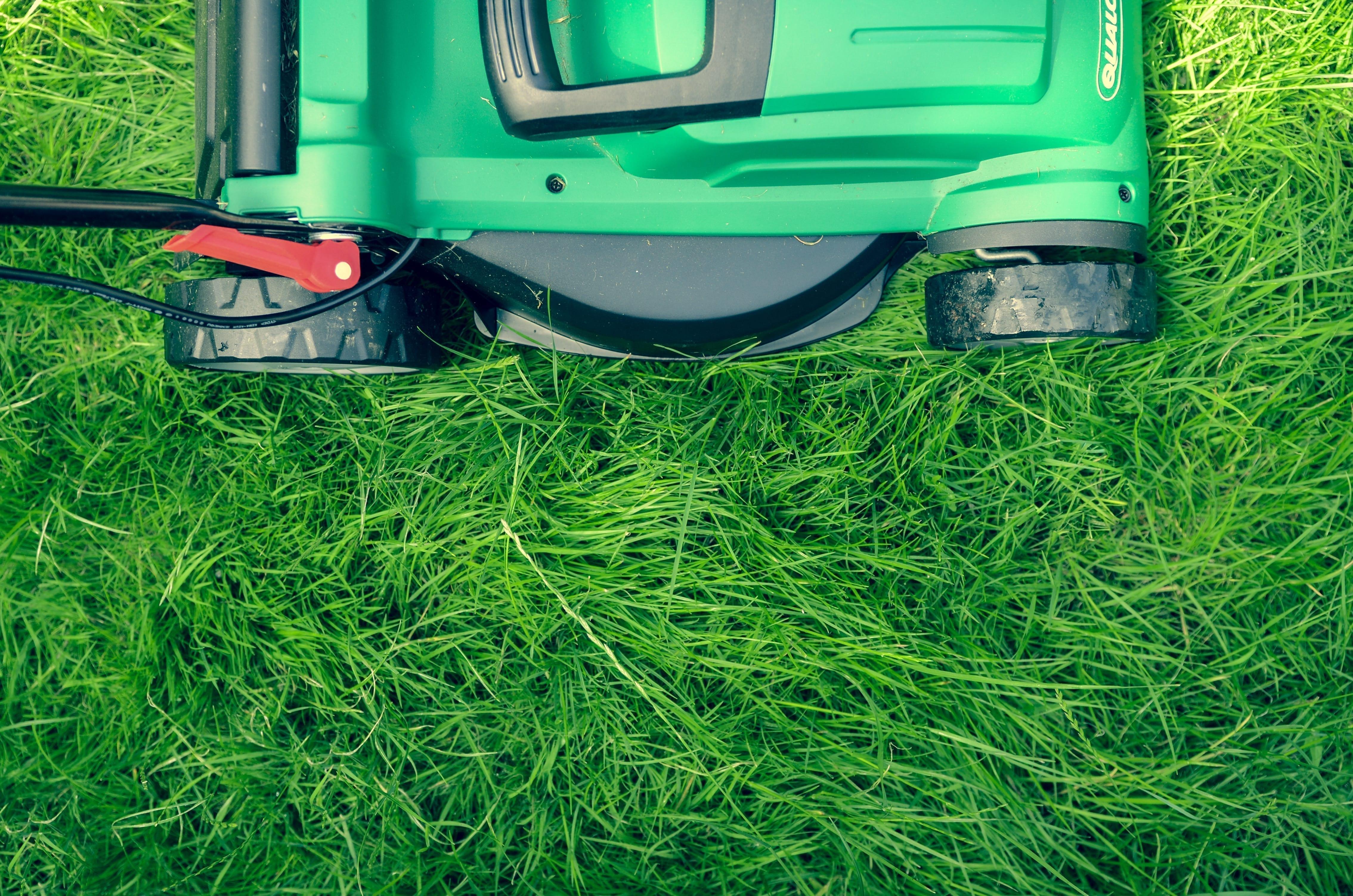 damage deposit mowing lawn